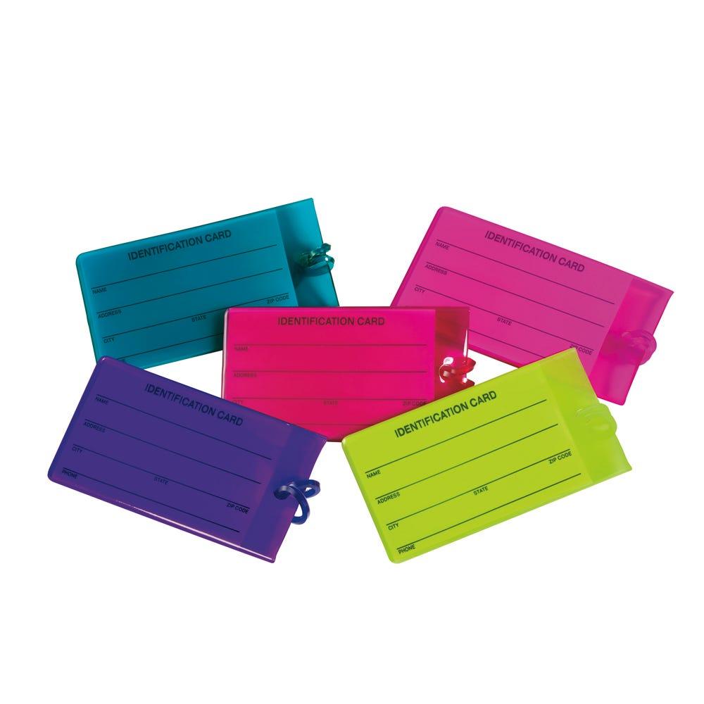 Identificador de equipaje de silicón color variable
