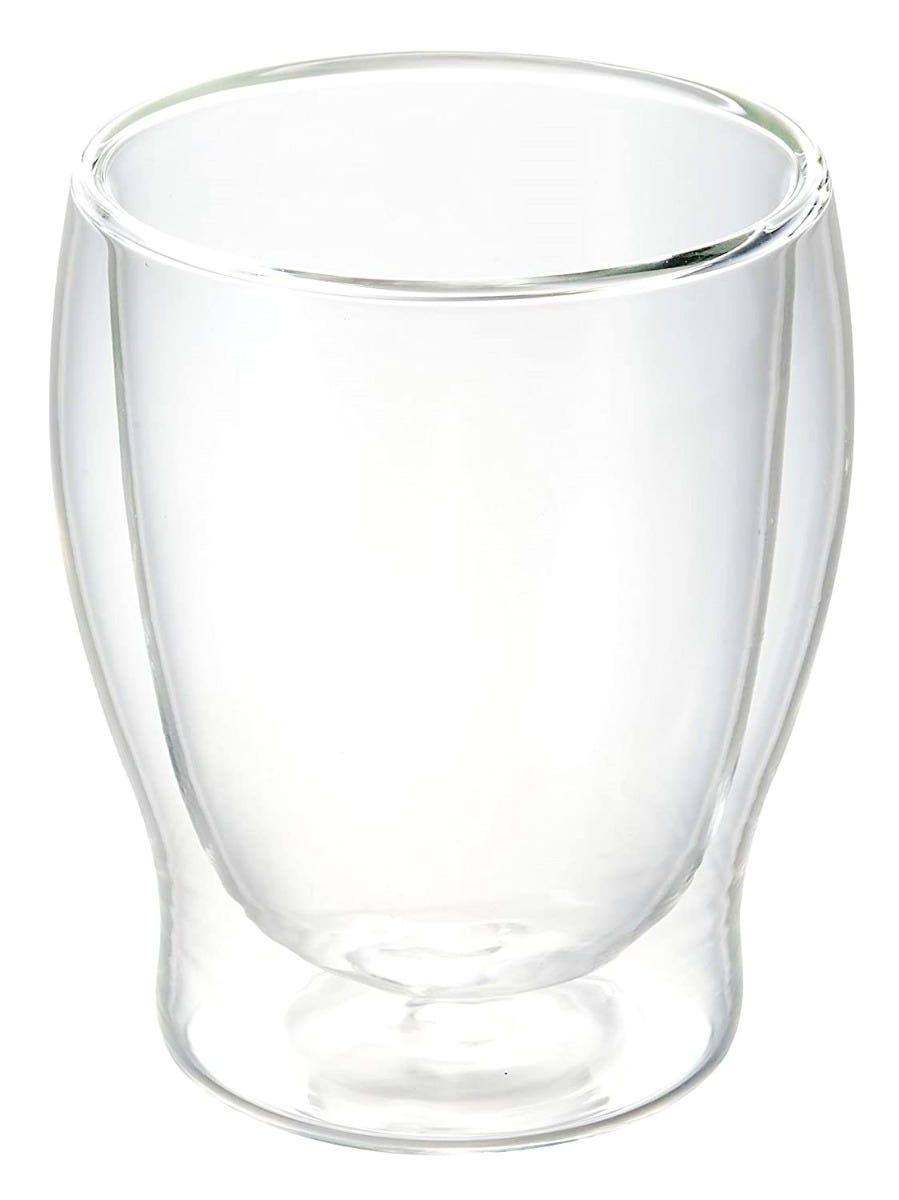 Vasos doble old fashioned Luigi Bormioli de vidrio con doble pared, Set de 2