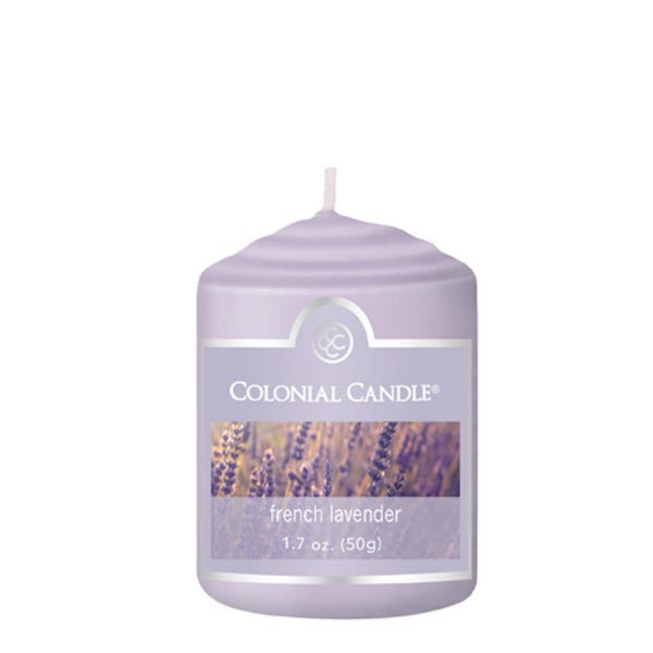 Vela votiva Colonial Candle® aroma French Lavender