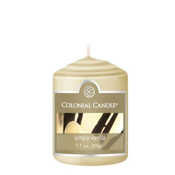 Vela votiva Colonial Candle® aroma Simply Vainilla
