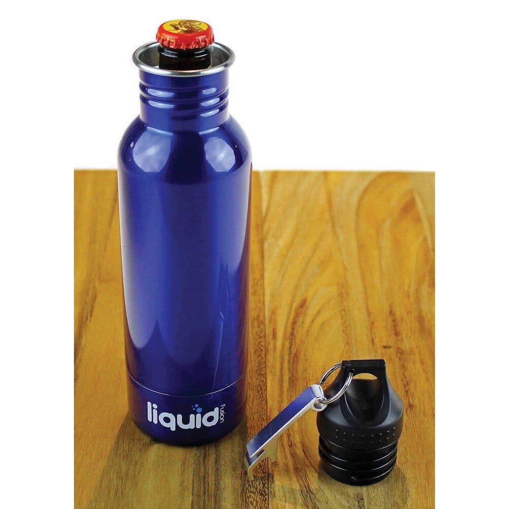Aislante térmico para botellas de 354.88 mL en azul