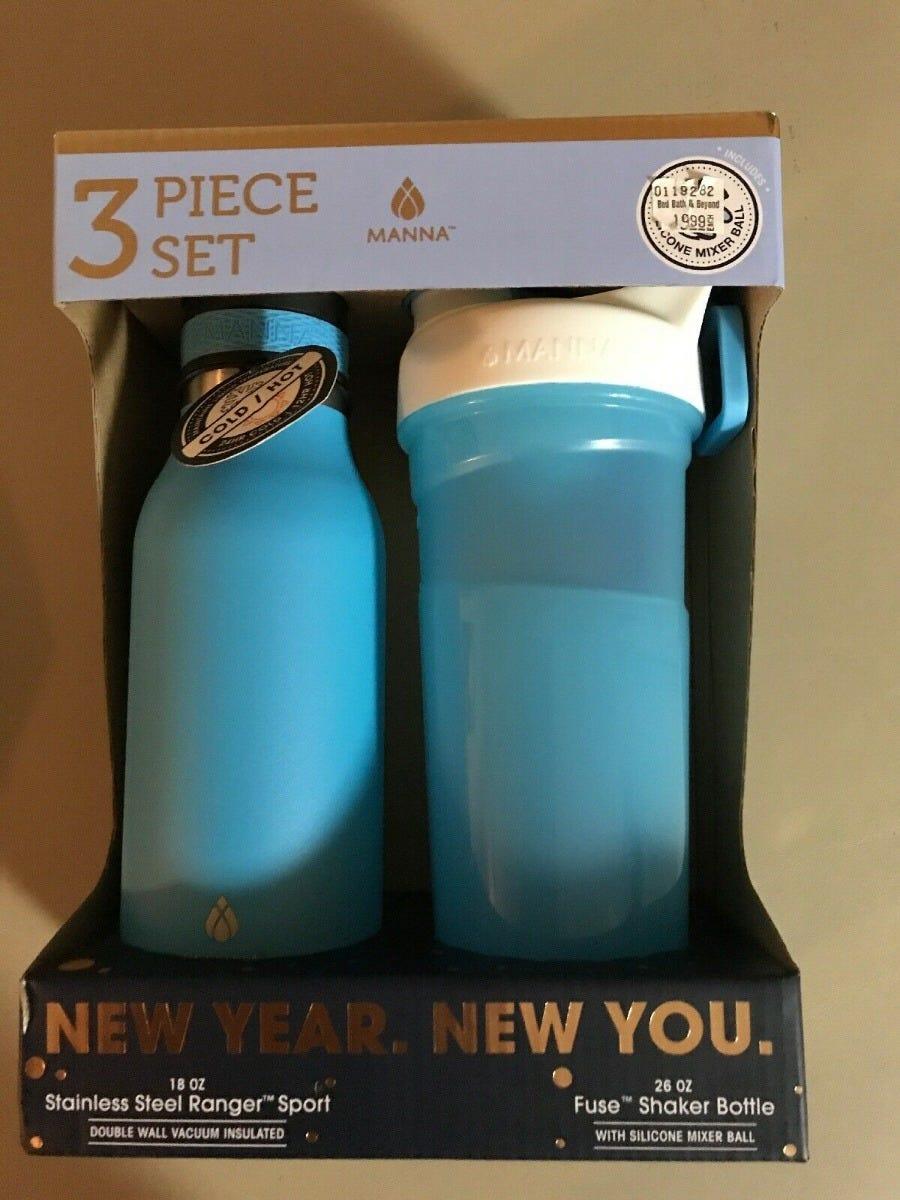 Set de termos, New Year, New You 3 piezas