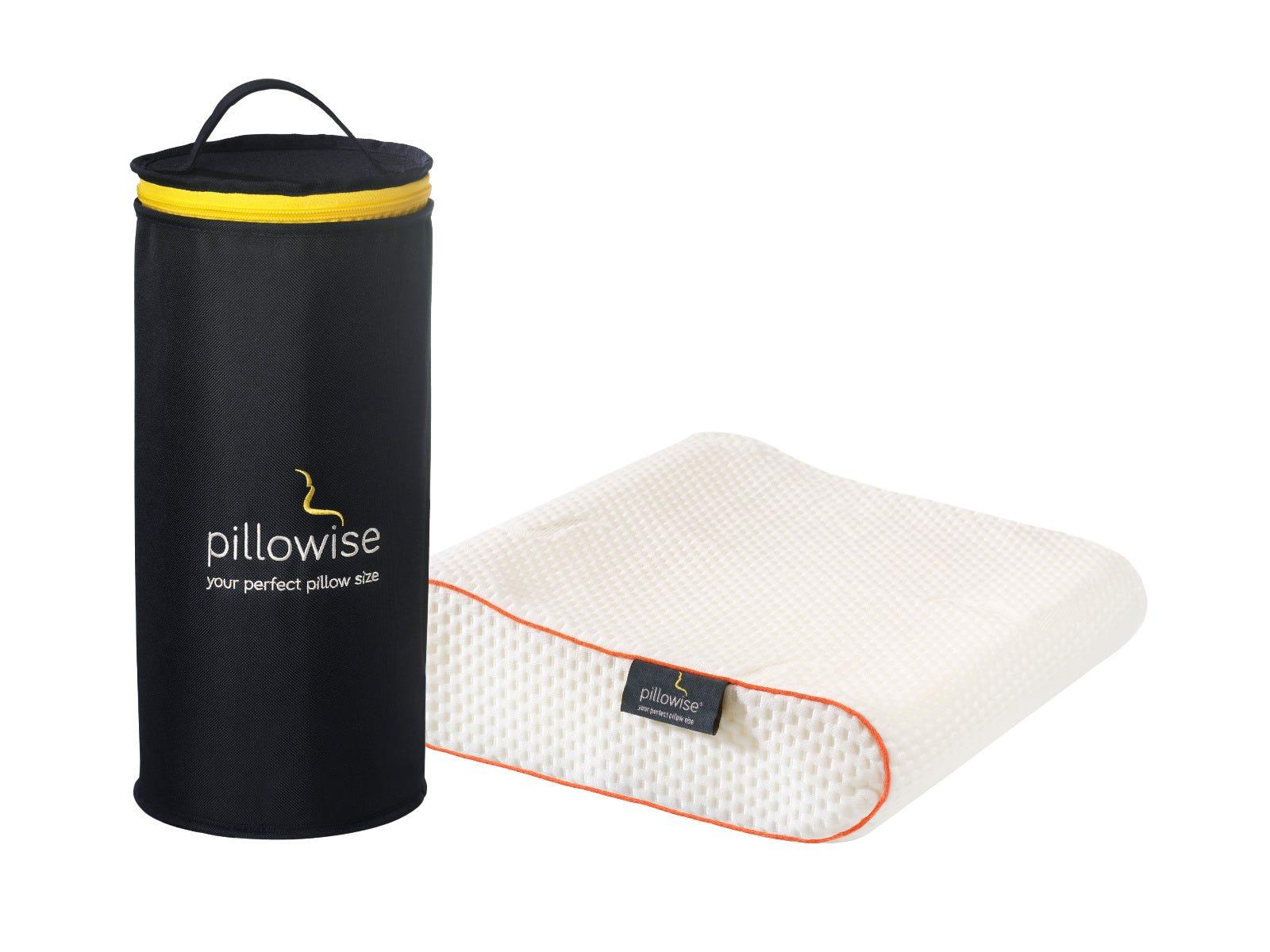 Almohada de viaje Pillowise® en naranja