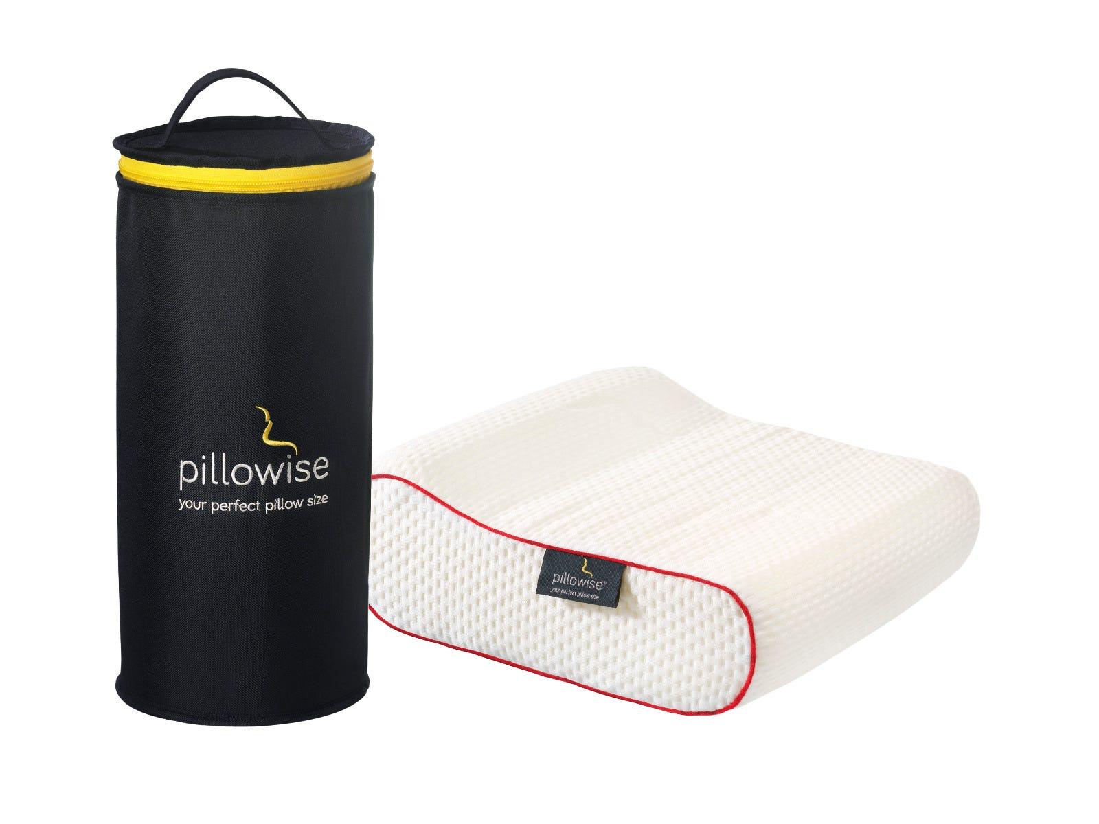 Almohada de viaje Pillowise® en rojo