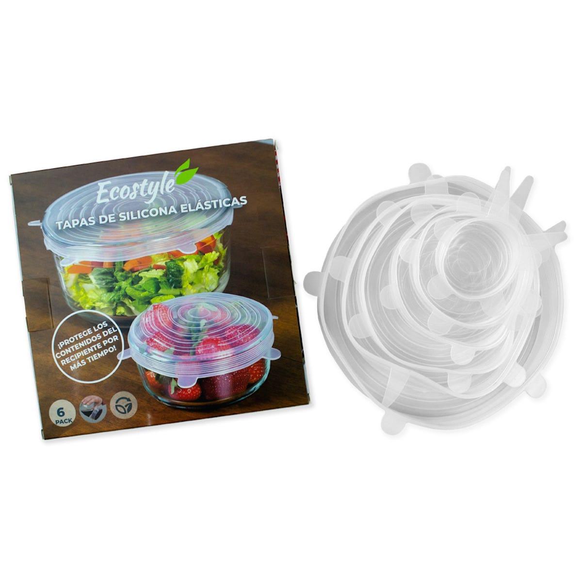 Tapas para contenedores de silicón Ecostyle®