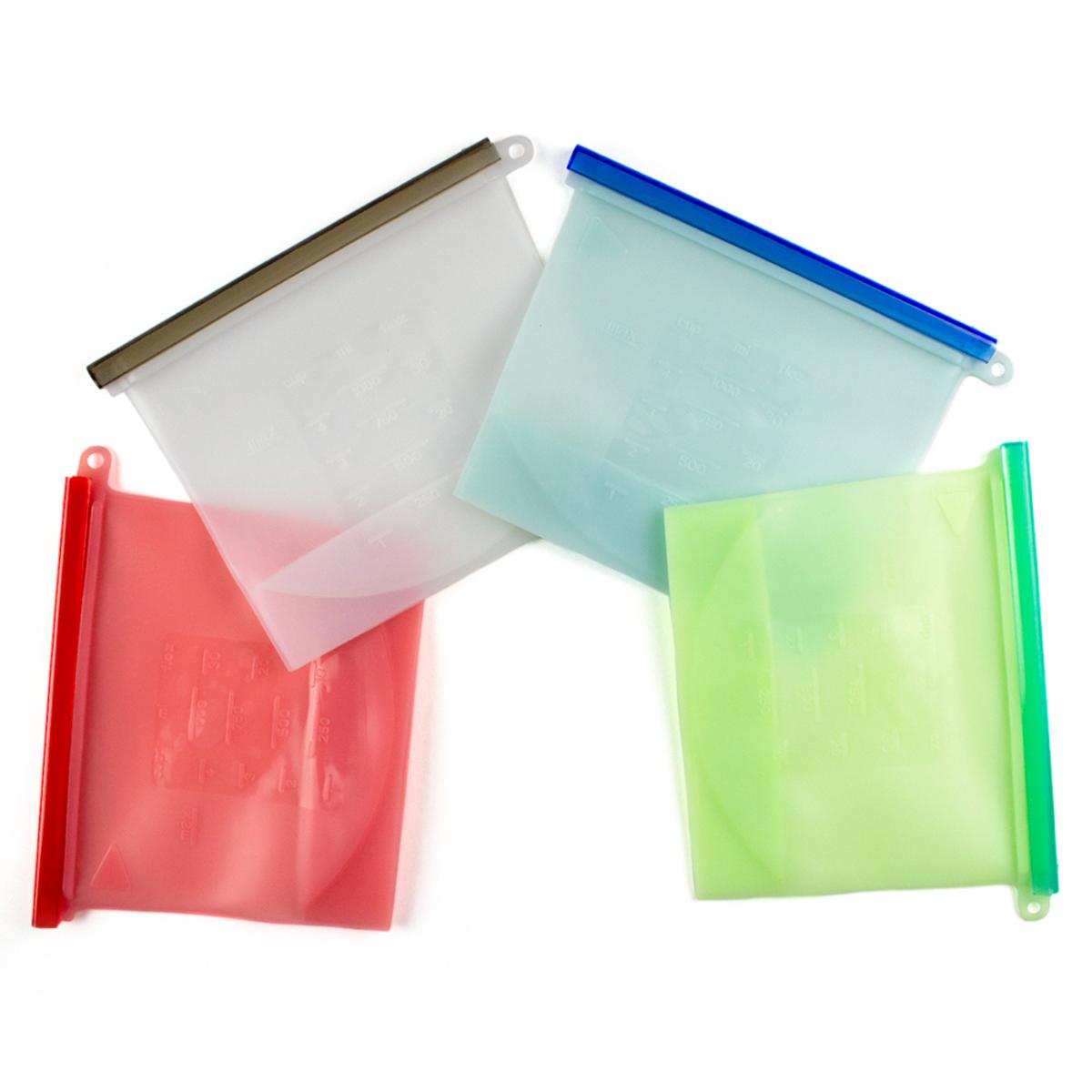 Bolsas reutilizables de silicón Ecostyle®