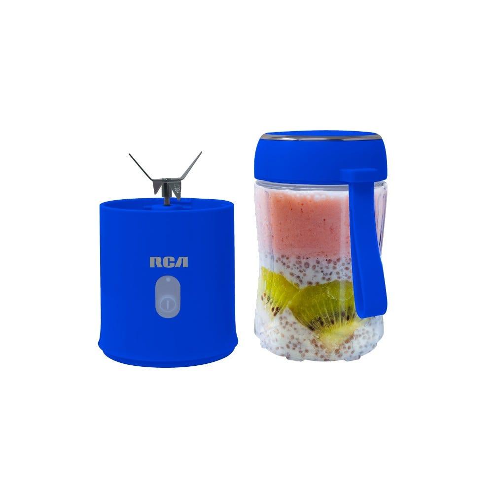 Mini licuadora RCA en azul