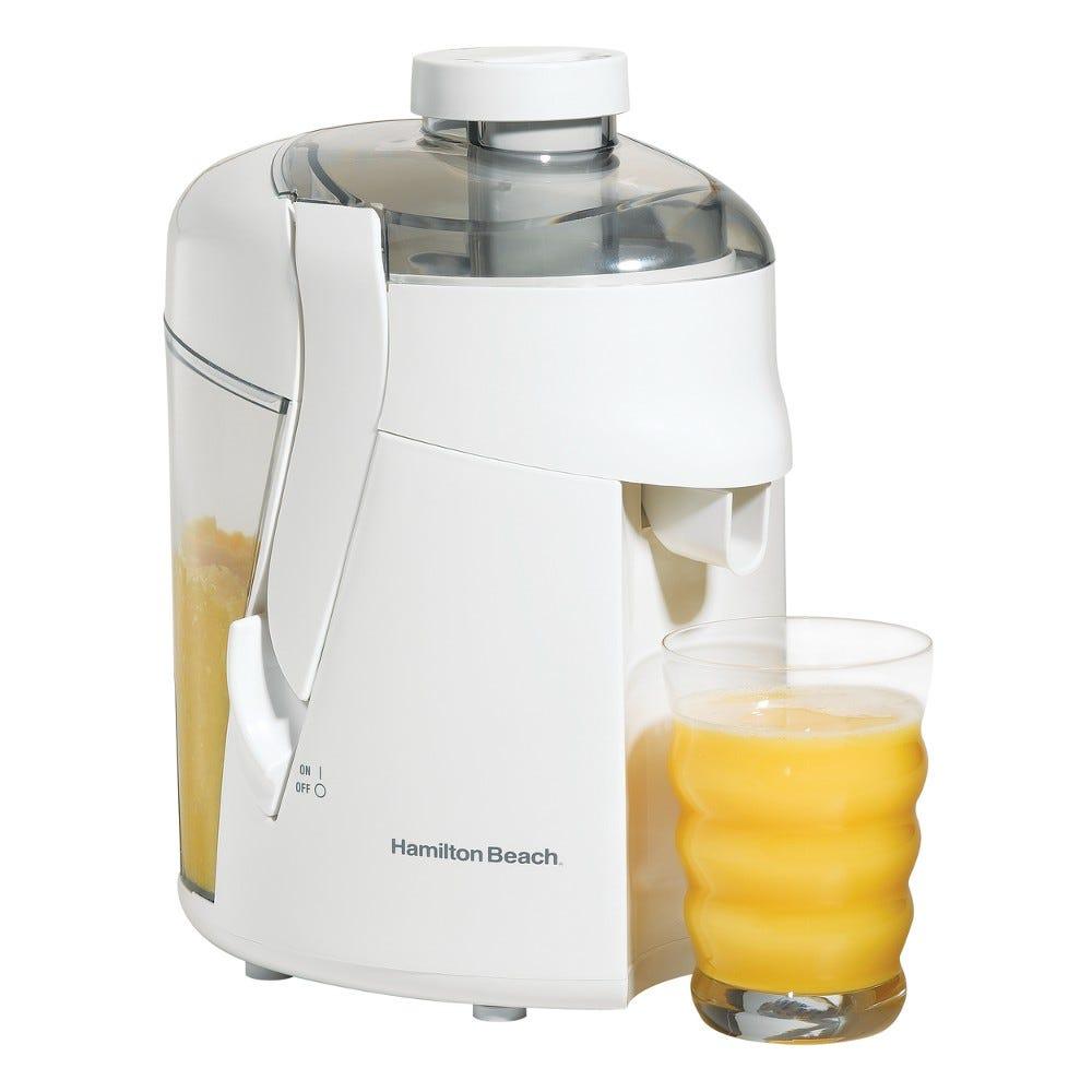 Extractor de jugos de plástico ABS Hamilton Beach® de 350 watts