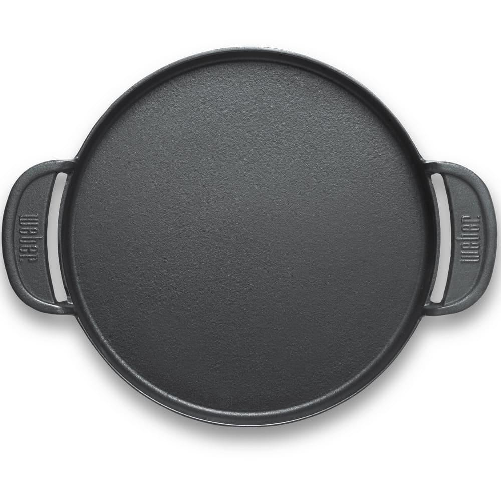 Plancha de hierro para asar Weber® para parrilla