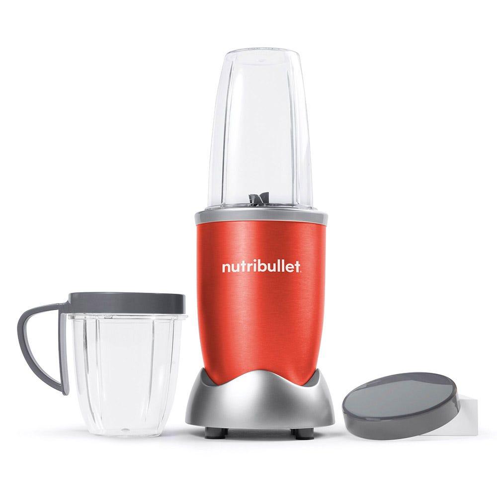 Procesador de alimentos de acero inoxidable Nutribullet® color rojo