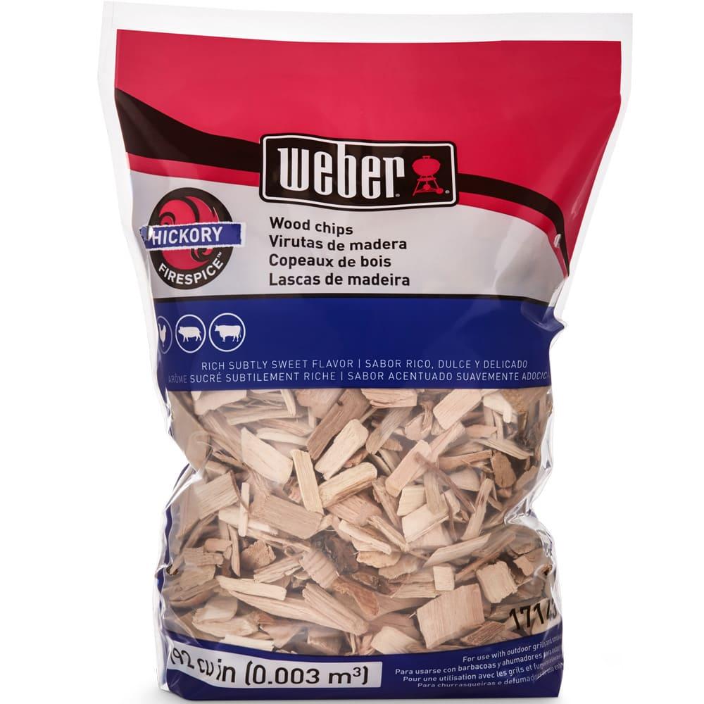Astillas de madera de nogal Weber® para asador 17143