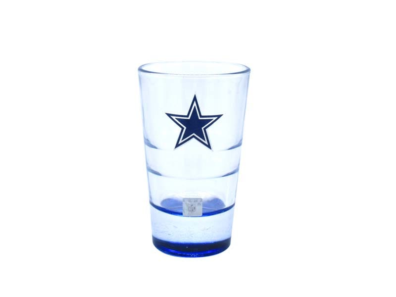 Vasos tequileros NFL Dallas Cowboys, Set de 4