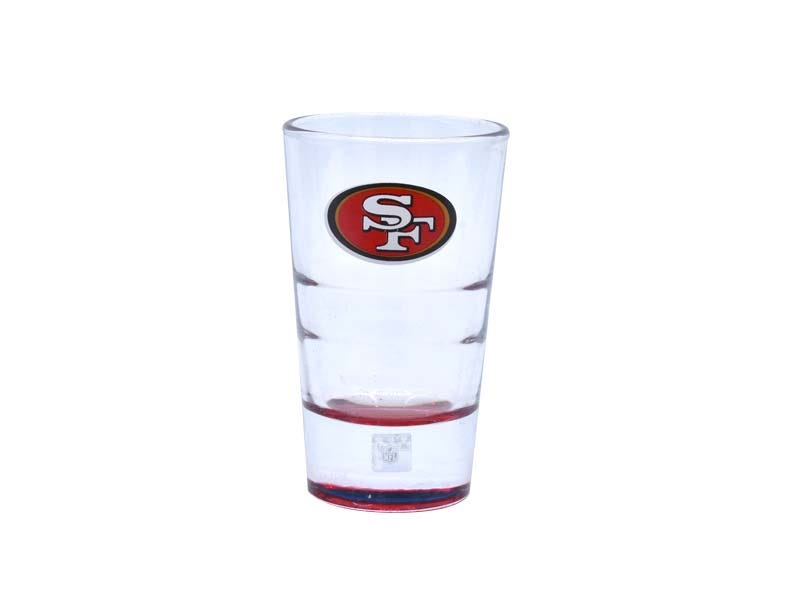 Vasos tequileros NFL San Francisco 49ers, Set de 4
