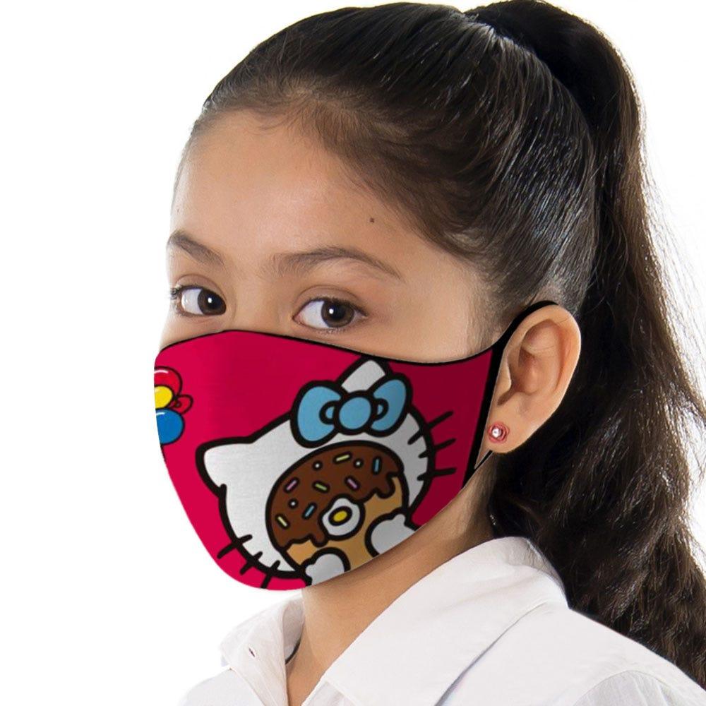 Cubrebocas infantil Blink® con diseño de Hello Kitty