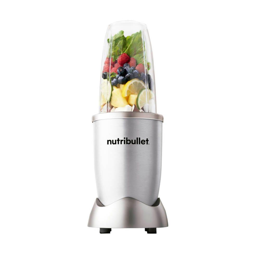Procesador de alimentos de acero inoxidable Nutribullet® de 5 accesorios