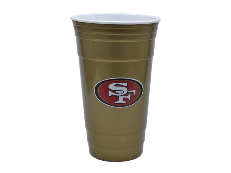Vaso para fiesta NFL San Francisco 49ers de 900 mL