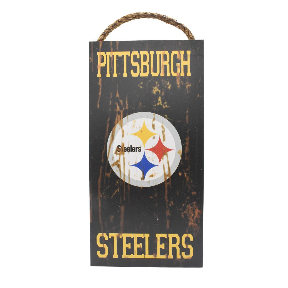 Letrero decorativo para pared NFL Pittsburgh Steelers