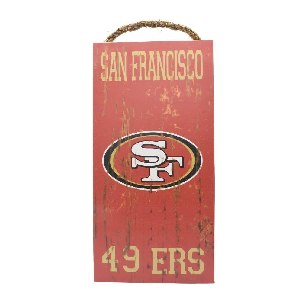 Letrero decorativo para pared NFL San Francisco 49ers