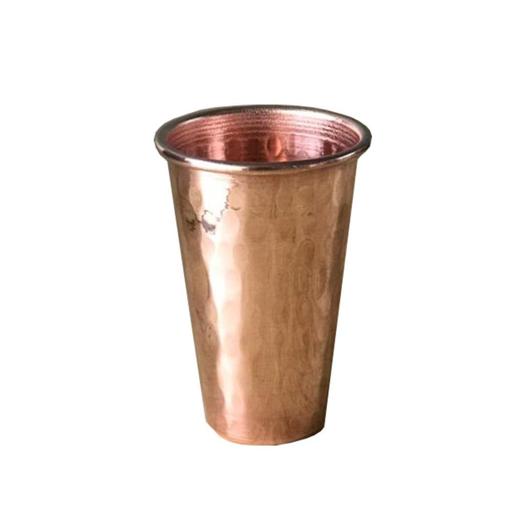 Vasos tequileros artesanales de cobre Don Vasco®, Set de 4