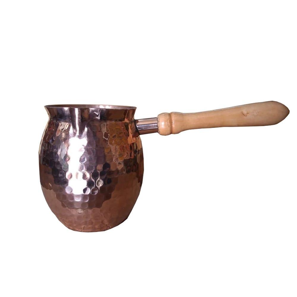 Mini tetera artesanal de cobre Don Vasco® con mango