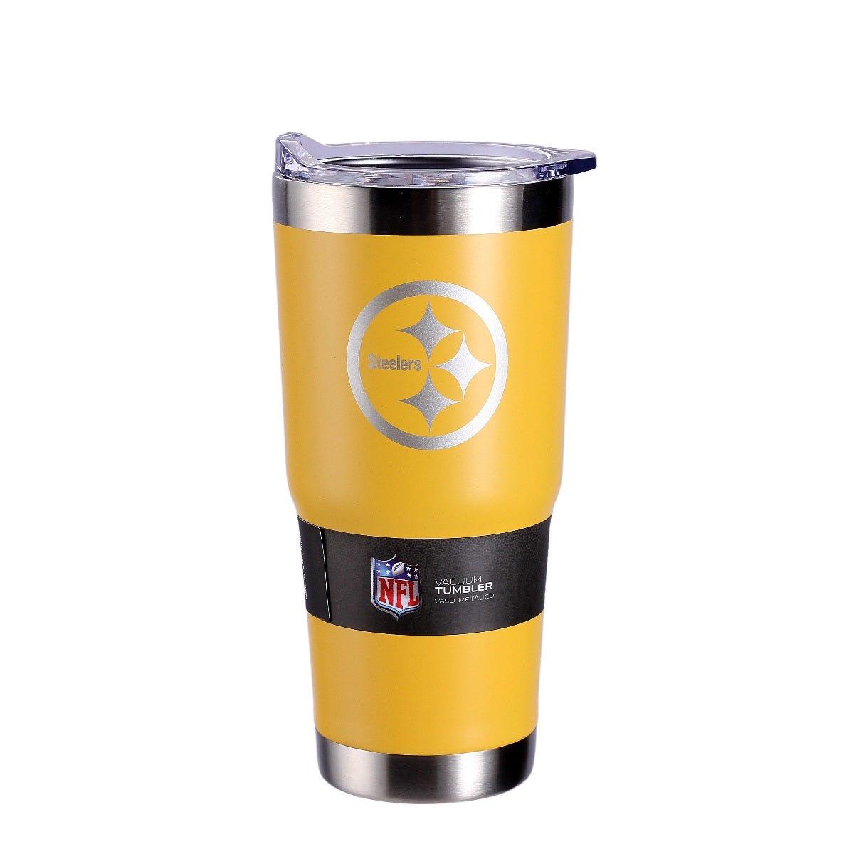 Termo NFL Pittsburgh Steelers en amarillo