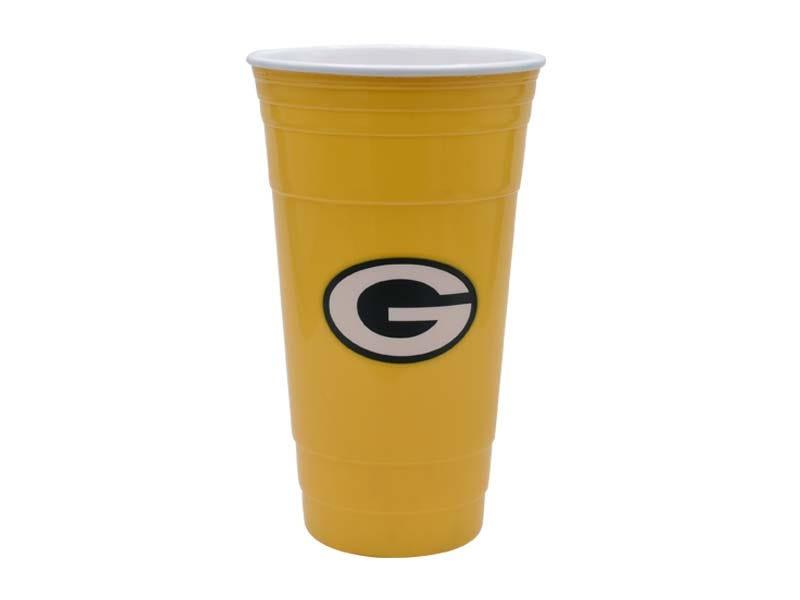 Vaso para fiesta NFL Green Bay Packers de 900 mL