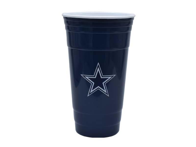 Vaso para fiesta NFL Dallas Cowboys de 900 mL