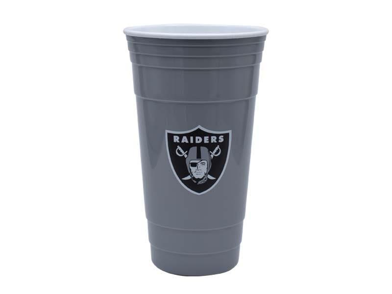 Vaso para fiesta NFL Las Vegas Raiders de 900 mL