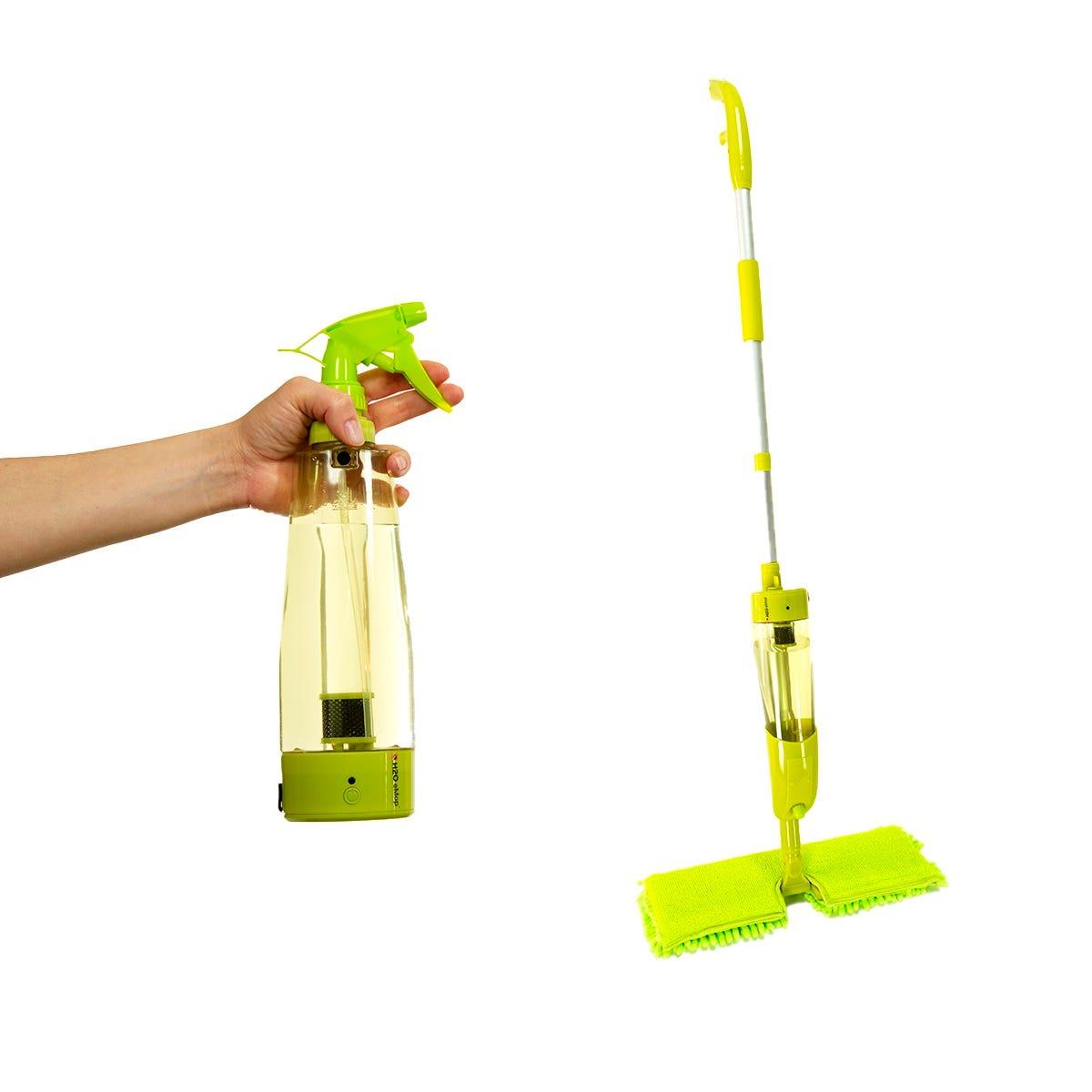 Trapeador de plástico H2O e3™ sistema de limpieza natural