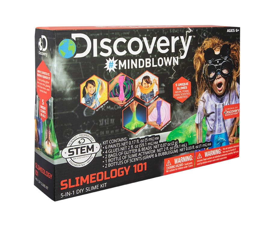 Set para crear slime Discovery Kids