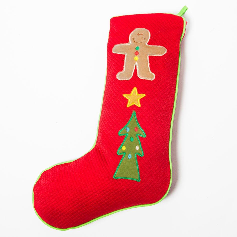 Bota navideña BARTTOLA Ginger Party en rojo