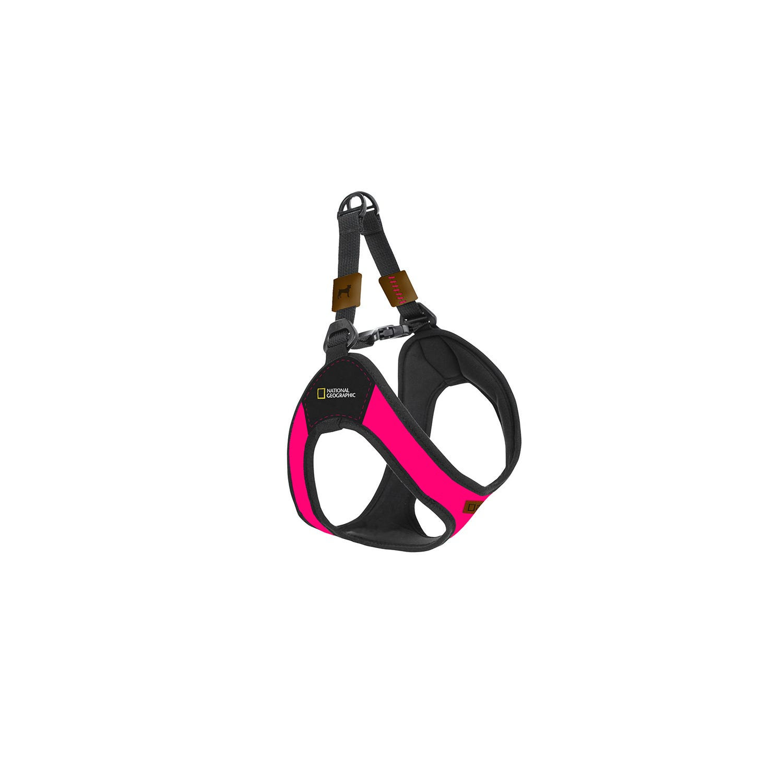 Pechera National Geographic® Bolt grande en rosa