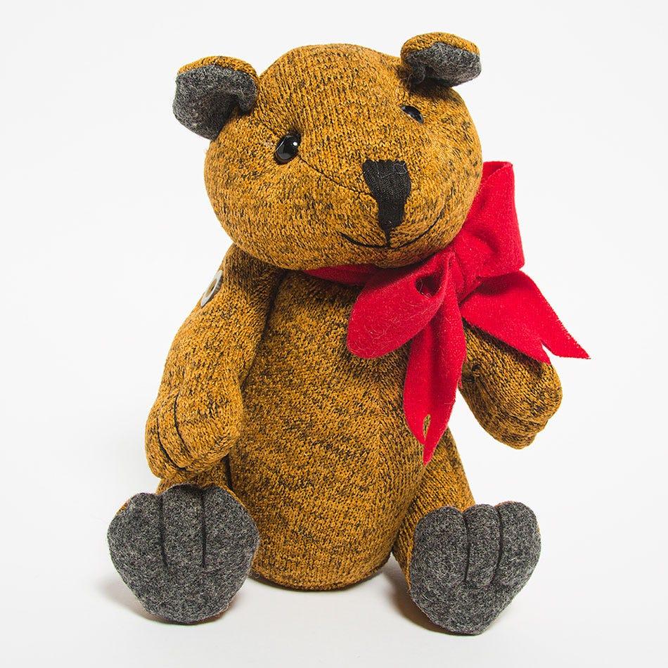 Oso navideño tejido BARTTOLA Cirilo