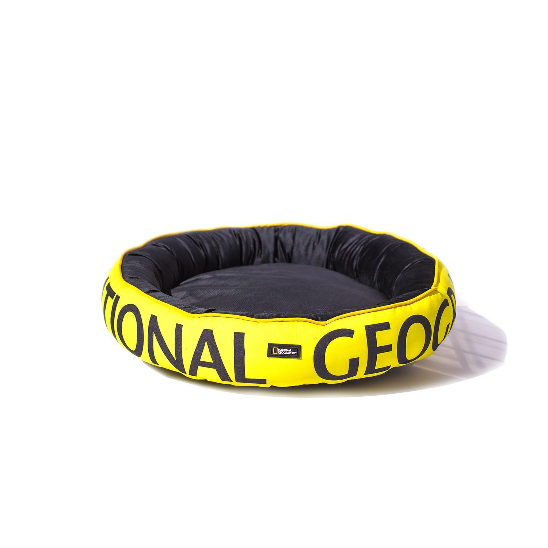 Cama para mascota National Geographic® Apolo mediana en amarillo