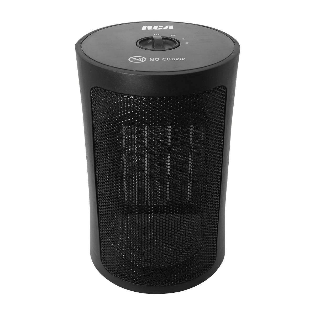Calefactor RCA de cerámica en negro