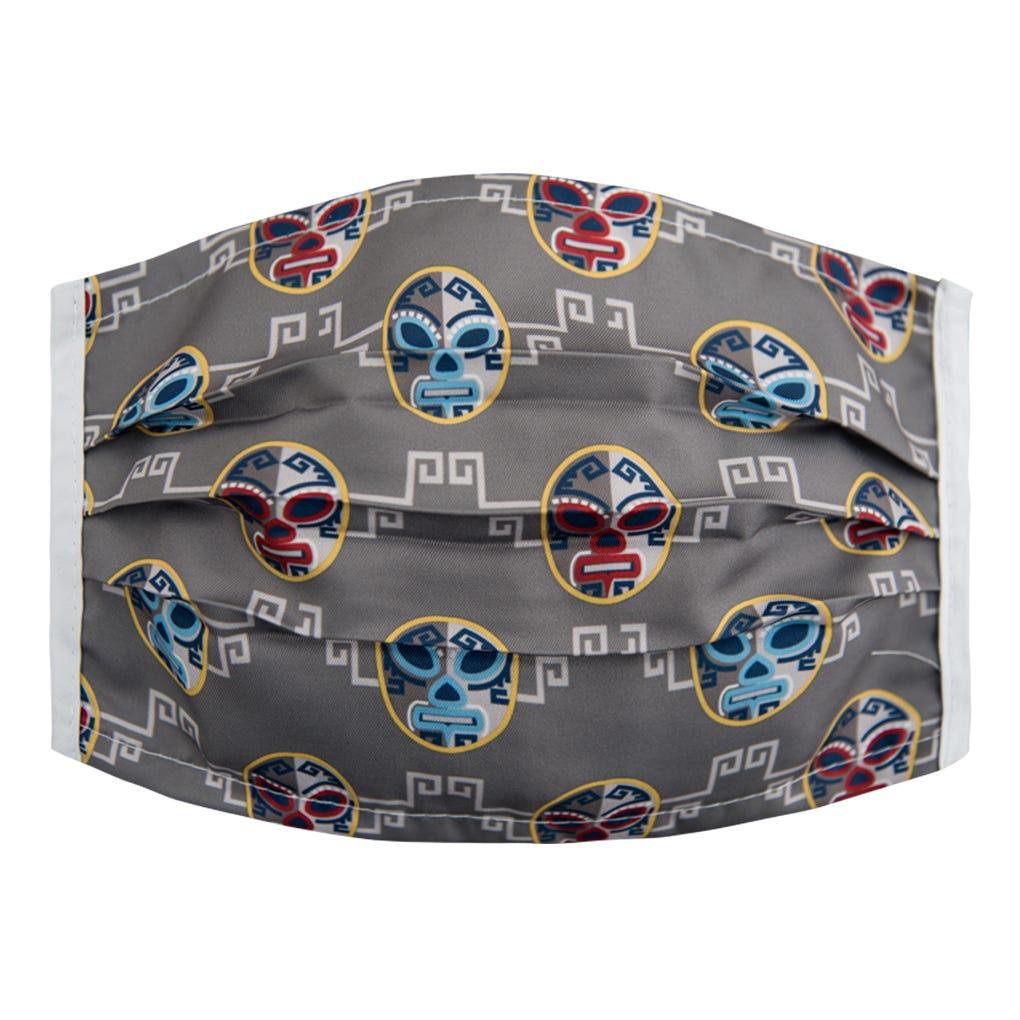 Cubrebocas para caballero Karaniart® con diseño de luchadores