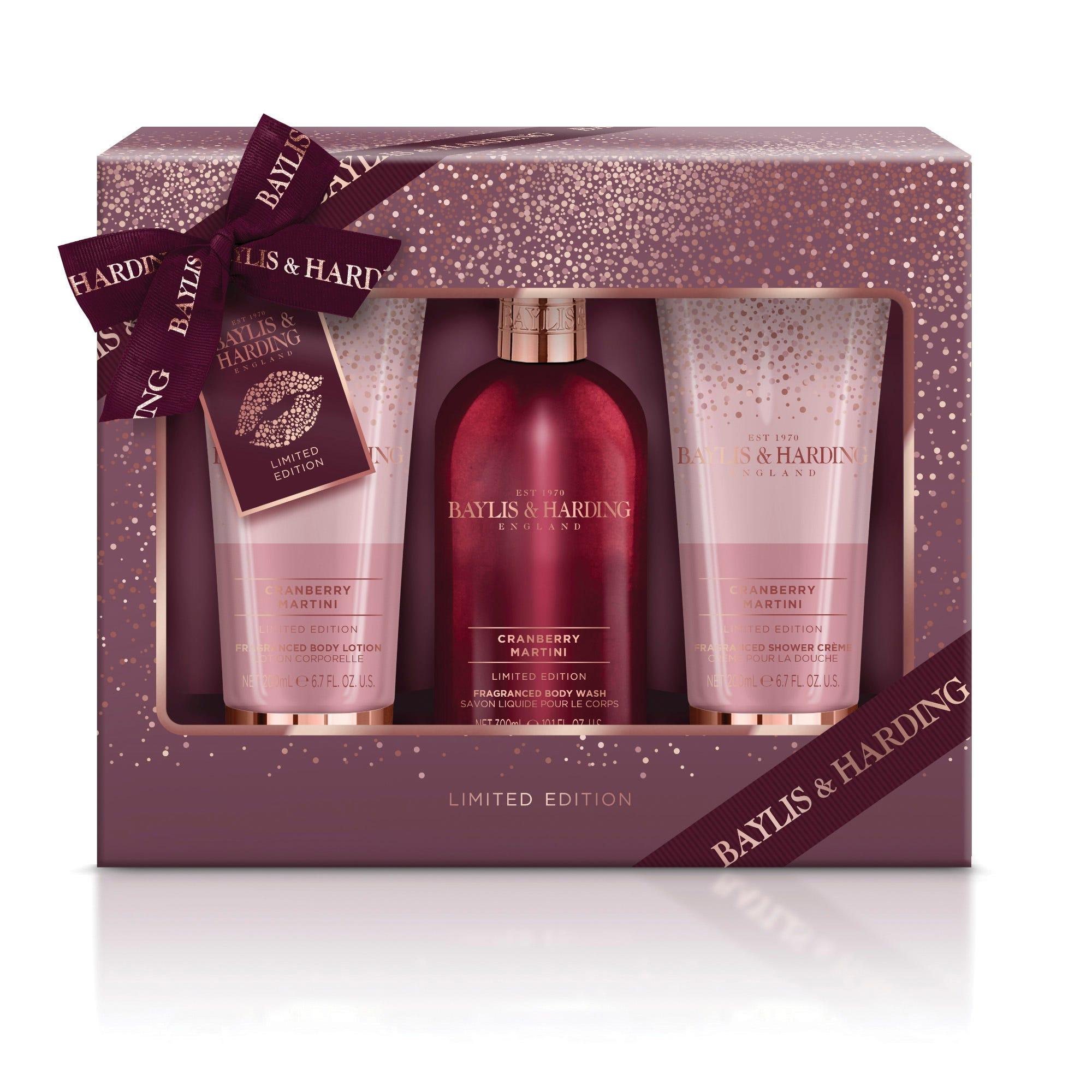 Set de cuidado de la piel Baylis & Harding para mujer aroma frutal, 3 piezas