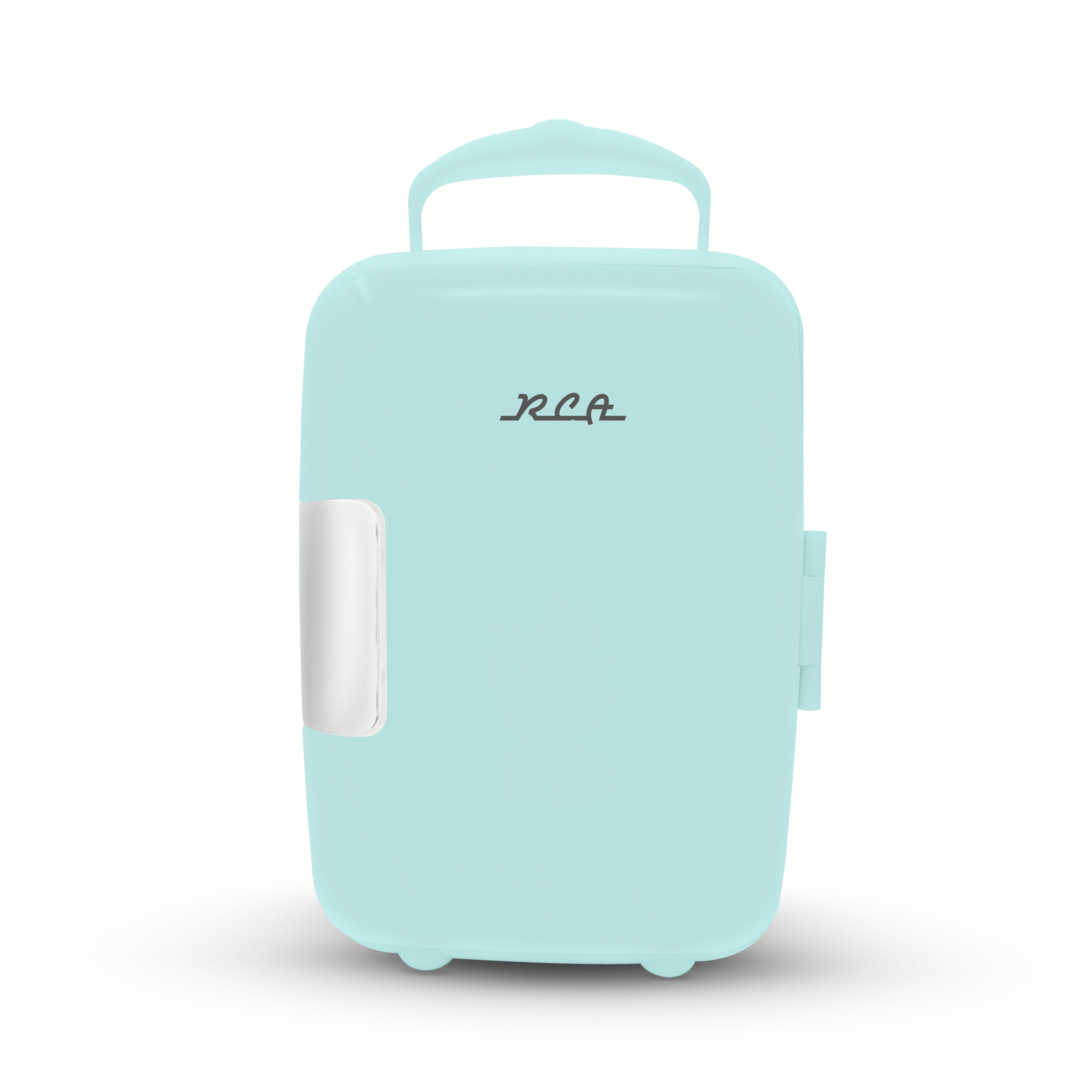 Mini refrigerador RCA en menta