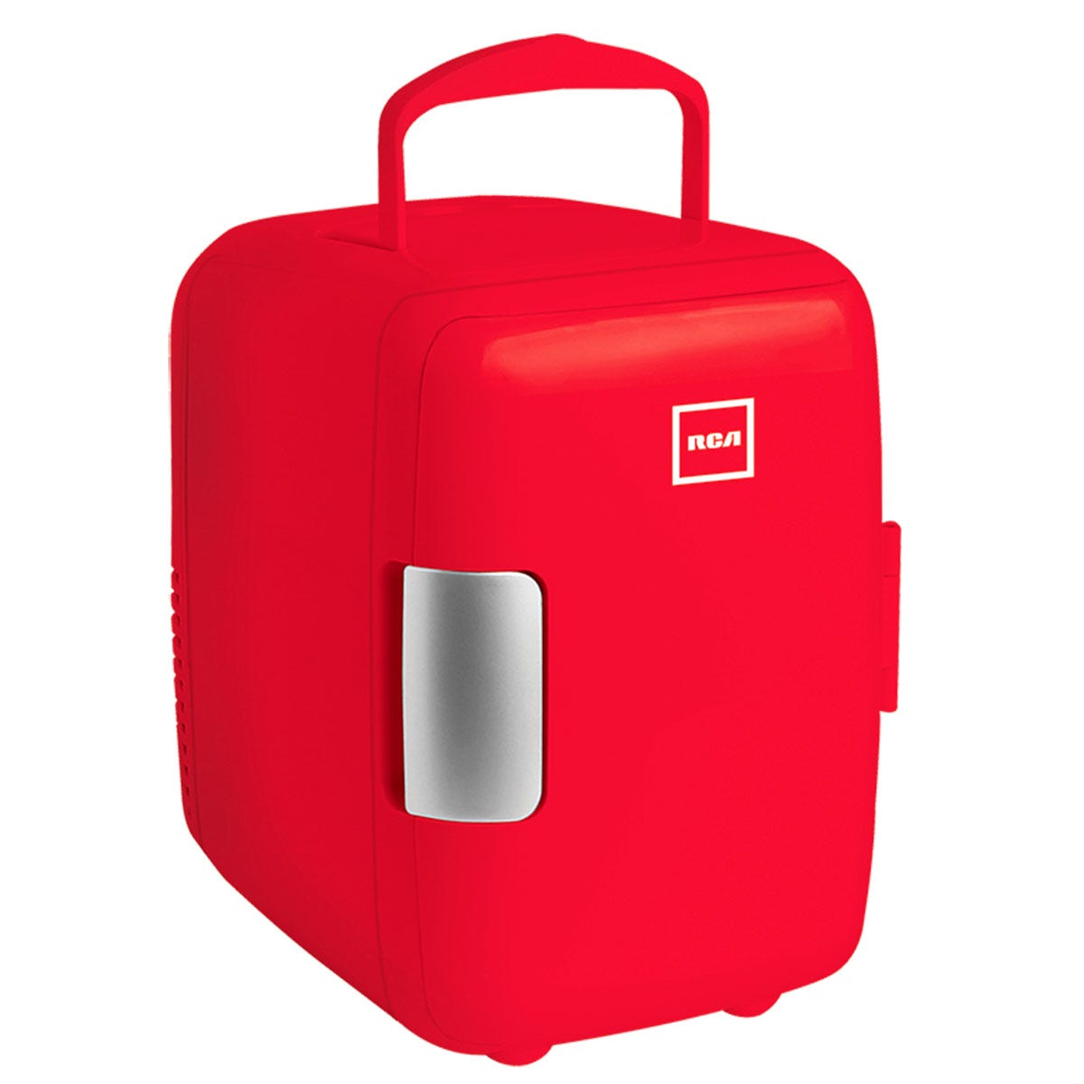 Mini refrigerador RCA color rojo