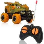 Carro a control remoto de dinosaurio Rugged Racers