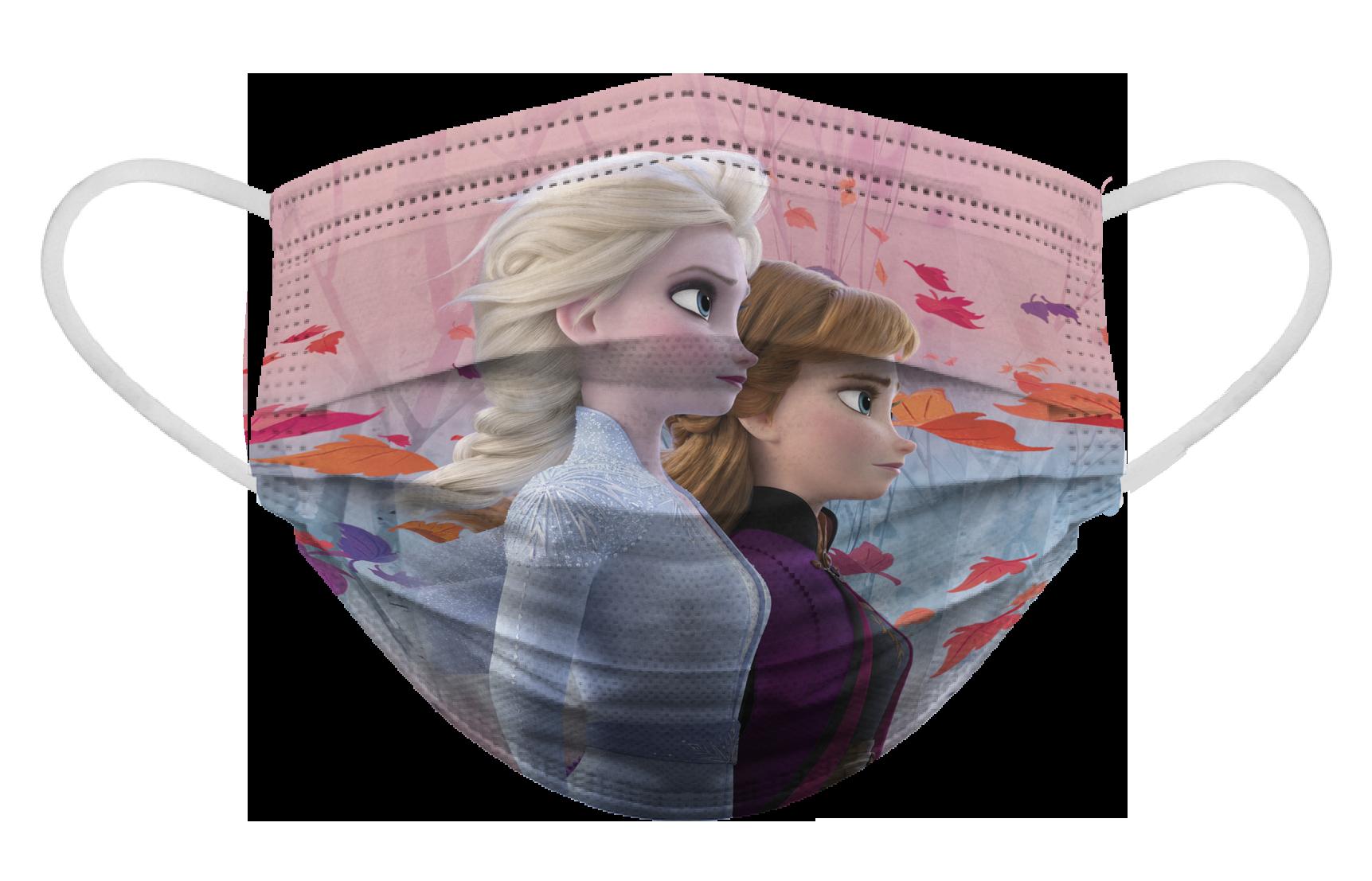 Cubrebocas infantil Biomsk® con diseño de Frozen