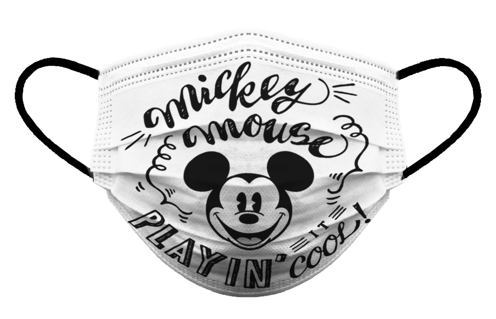 Cubrebocas para adulto Biomsk® con diseño de Mickey Cool
