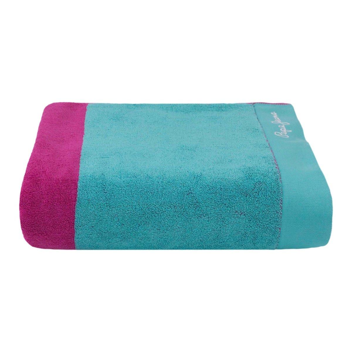 Toalla de baño Kaltex® Margot color fucsia/menta