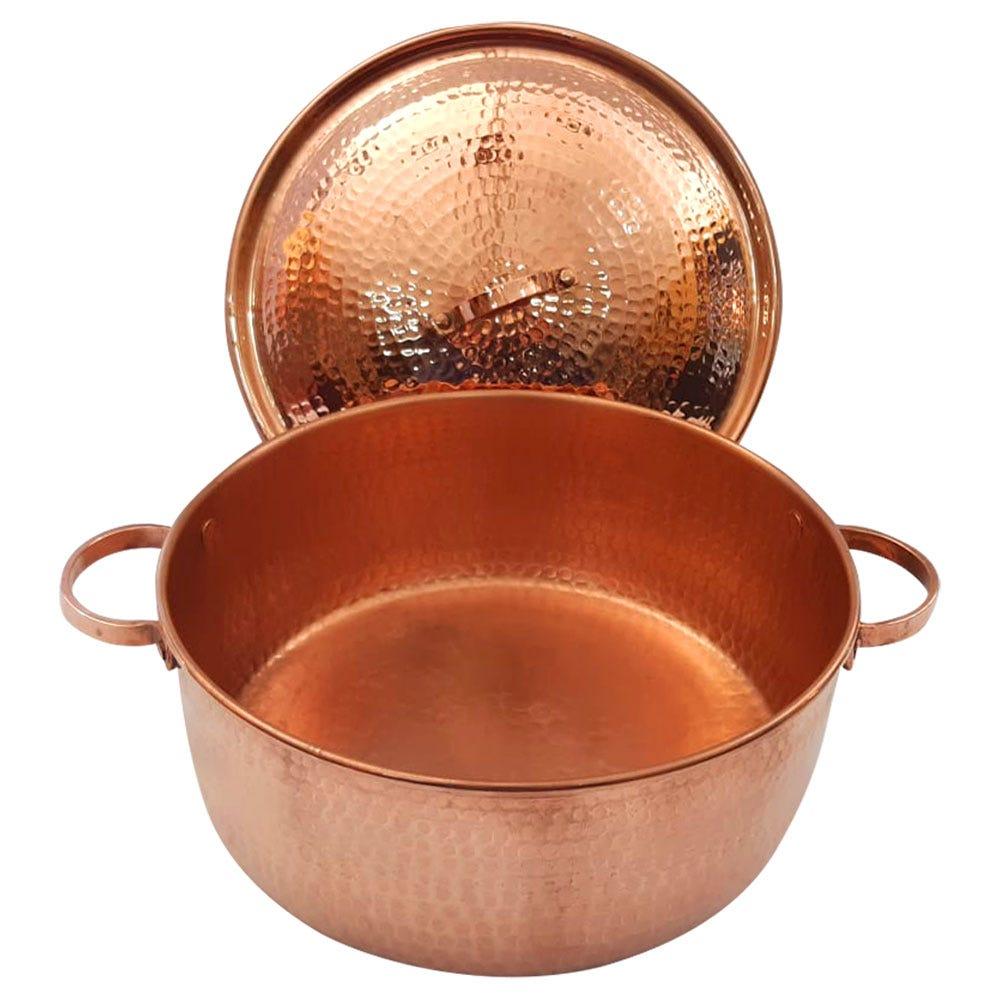 Arrocera artesanal de cobre Don Vasco®