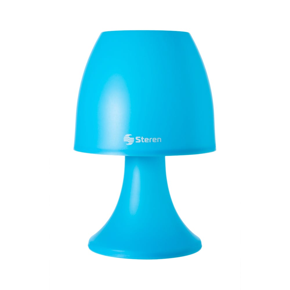 Lámpara LED decorativa Steren® color azul