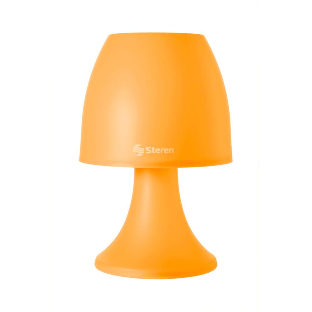 Lámpara LED decorativa Steren® color naranja
