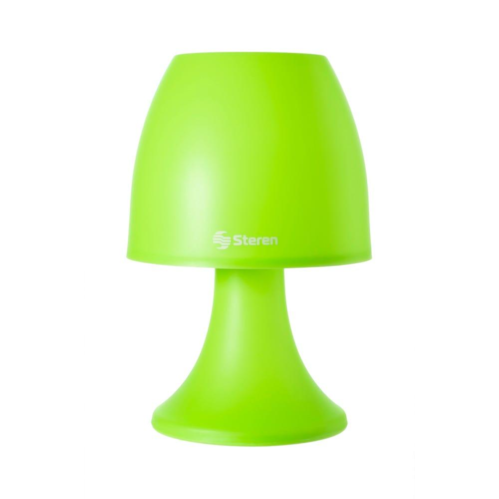 Lámpara LED decorativa Steren® color verde