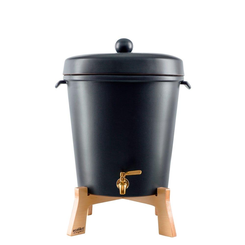 Filtro de agua Ecofiltro® de cerámica color negro