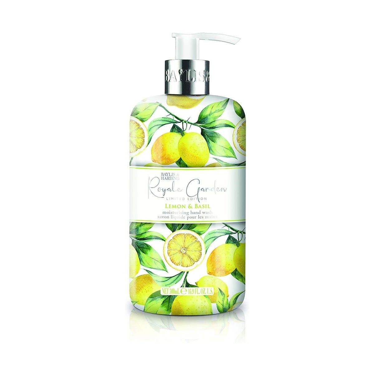 Jabón para manos Baylis & Harding® Royale Garden aroma limón y albahaca