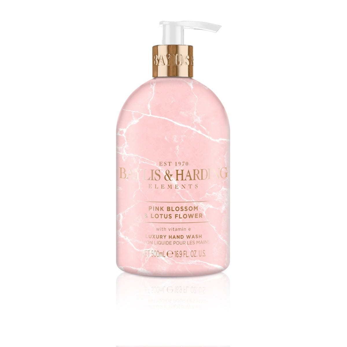 Jabón para manos Baylis & Harding® aroma flores rosadas